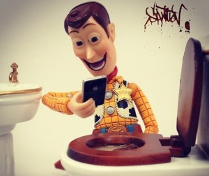 Woody reports on his daily life. All rights reserved to original artist.