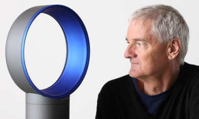 James Dyson. Photograph Jonathan Player-Rex Features