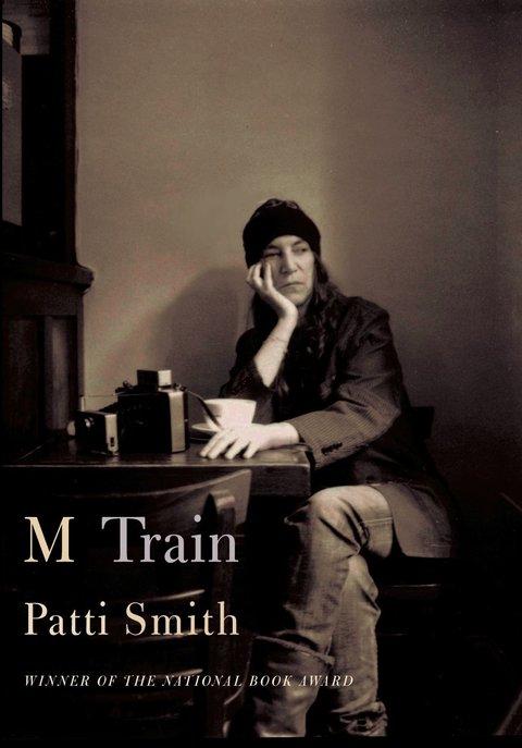 The cover of Patti Smith's new memoir- M train.