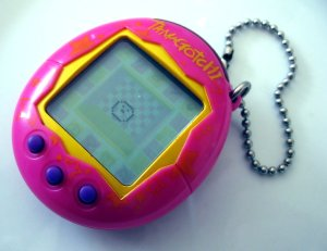 The Wikipedia picture defining Tamagotchis.