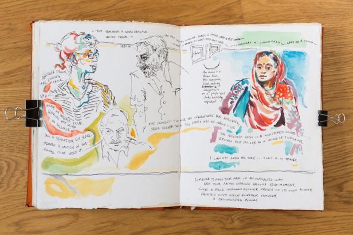 'Sketchbook Travel' 2015 blancheellis.com